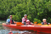 Family kayak fun