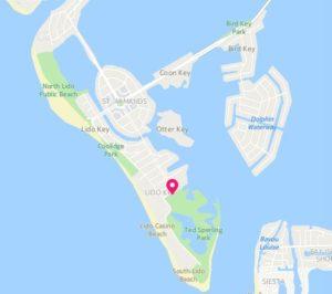 Lido Key for Sarasota Kayak